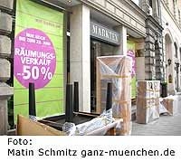 shops blog marktex m bel in m nchen zieht um. Black Bedroom Furniture Sets. Home Design Ideas