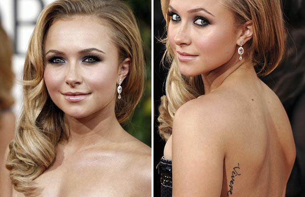celebrities tattoo. Over the years tattoos have caught rage with Hollywood