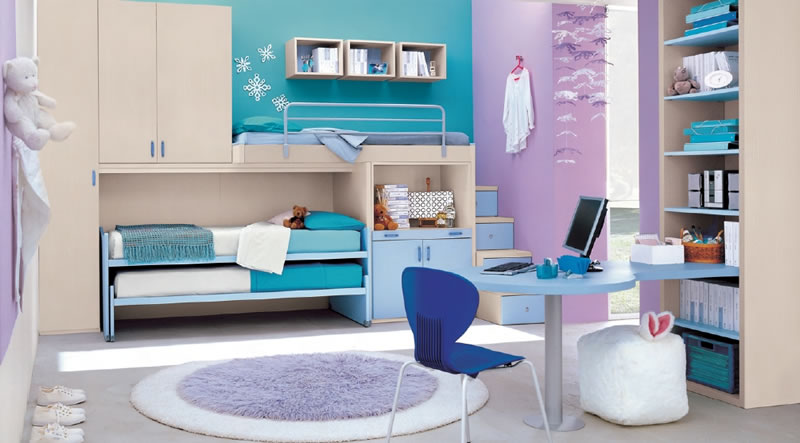 Blue Teenage Girls Bedroom Ideas 800 x 443