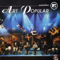 Cd Art Popular - Acústico MTV
