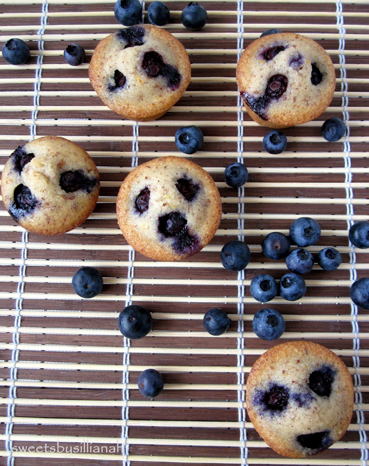 Blueberry Financiers Recipes — Dishmaps