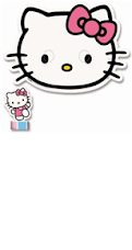 Carinha Hello Kitty