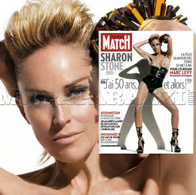 how much does sharon stone weigh