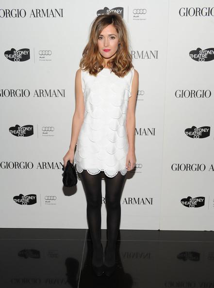 Rose Byrne, Do We Like Her Little White Dress Or Not?