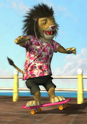 skateboard_lion