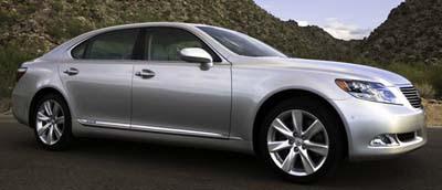 Lexus LS 600h L - uel-efficient gasoline-electric hybrid technology