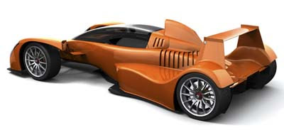 Caparo T1 - rack car with a performance equal