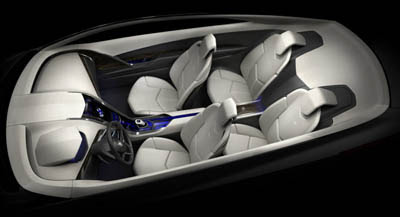 Cadillac Converj Concept - form of luxury transportation