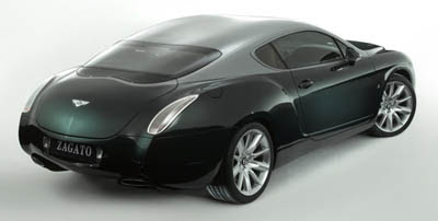 Bentley GTZ Zagato Concept - significance of the art