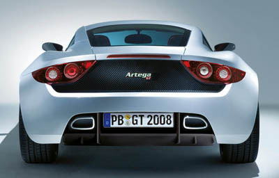 Artega GT - ightweight design and rigidity