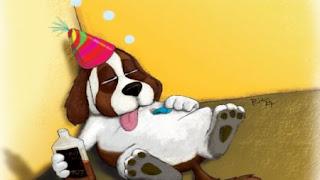 perros-alcohol-borracho-broma-gracioso