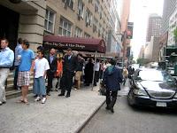 Line for Kogi BBQ