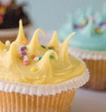One Girl Cookie cupcake