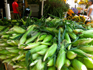 corn at greenmarket
