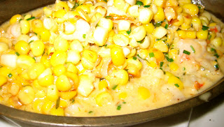 sweet creamed corn