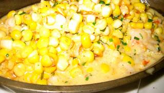 sweet creamed corn