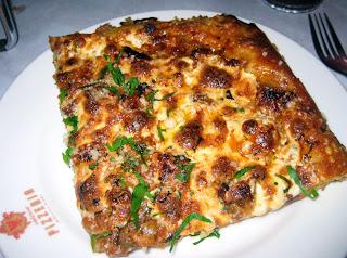 Porchetta pizza at Veloce Pizzeria