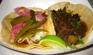 tacos at La Esquina
