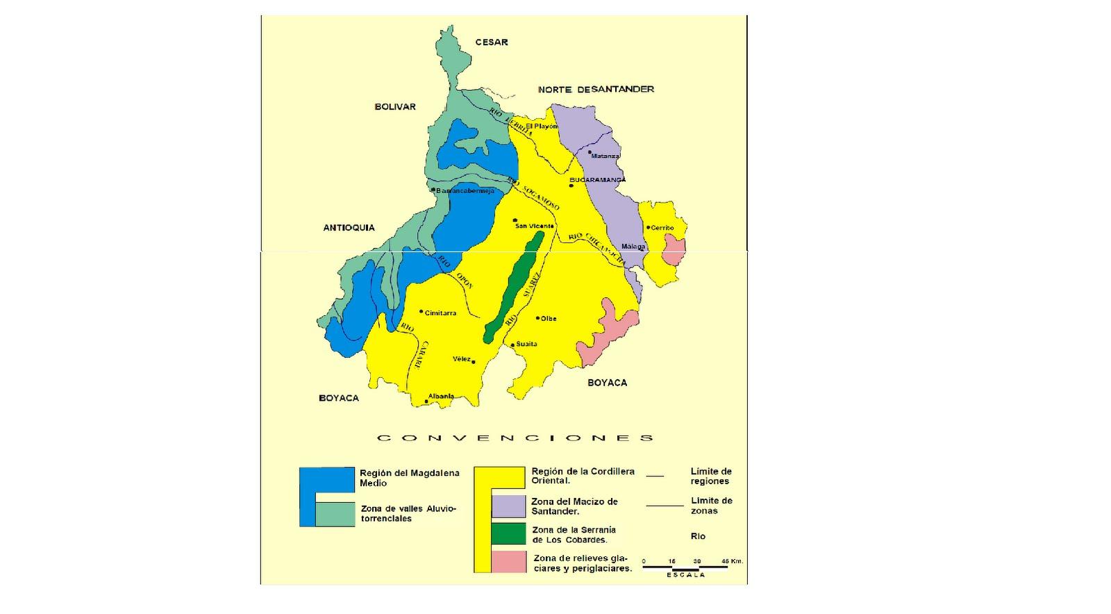 Santander limpia hidrografia santander mapa for Banco santander mas cercano a mi ubicacion