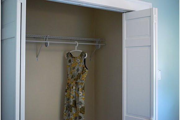 The Closet Shelf Is Up! We Went With A Totally Plain Basic Shelf And  Hanging Rod For Now. Iu0027d Like To Do More, Perhaps Even Something  Nicer/fancier When We ...