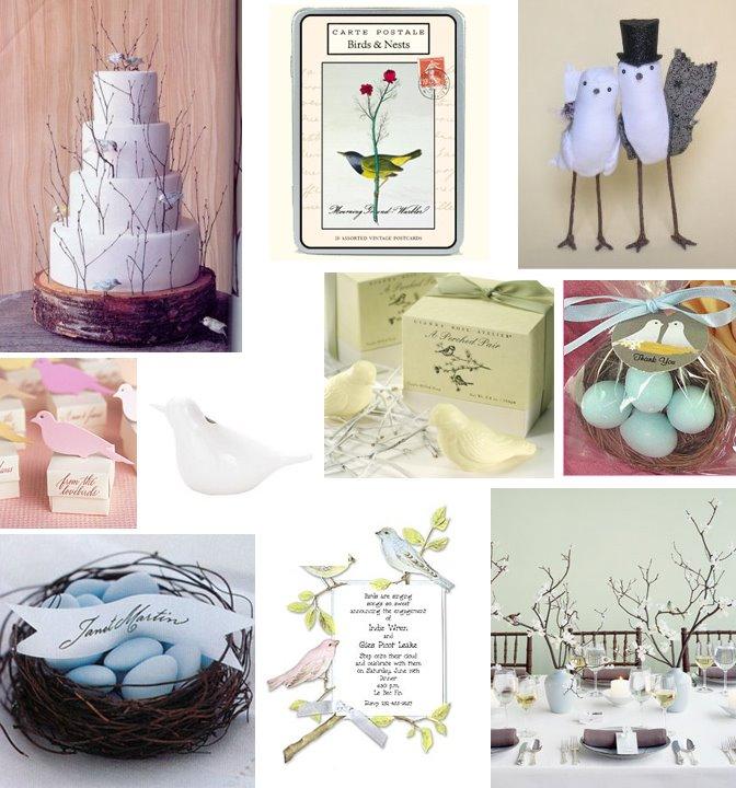 Bird Wedding Decor Love Bird Theme Ideas Hawaiian Weddings