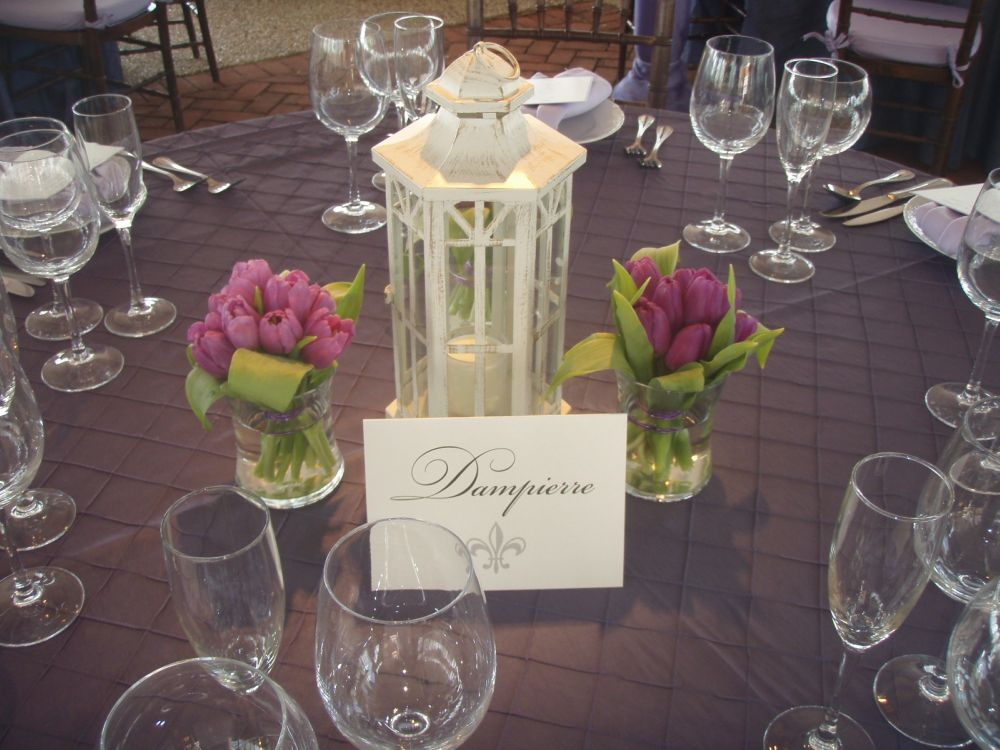 Wedding inspiration lantern decor