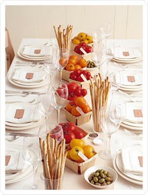 Wedding Inspiration Edible Centerpieces