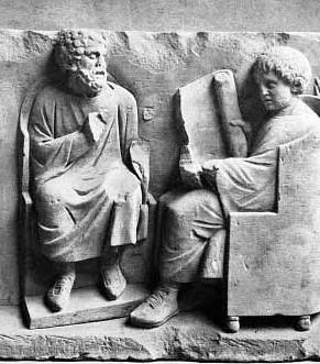 Hist ria do trabalho docente as escolas romanas ensino for Piscina g s roma 53 roma