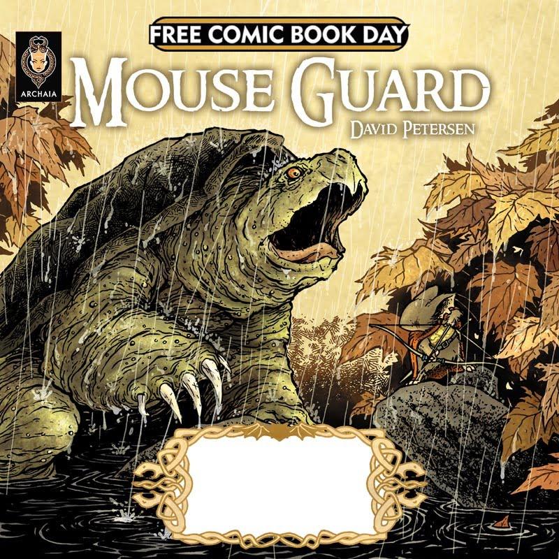 Free Comic Book Day España: David Petersen's Blog