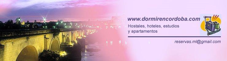 Dormir en Córdoba: hostales, hoteles, estudios y apartamentos en el centro histórico