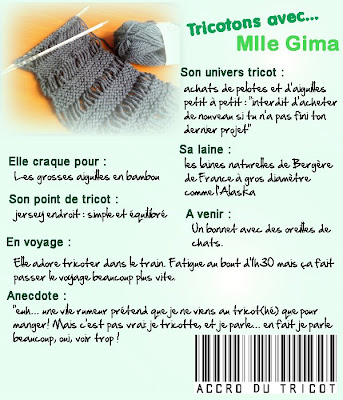 tricotons avec mlle gima