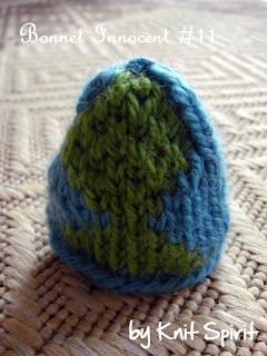 bonnet tricot jacquard