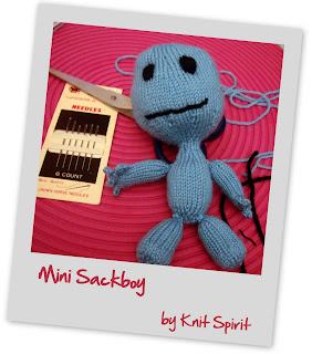 modele tricot sackboy
