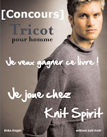 concours tricot pour hommes erika knight