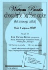 Tepung Kek Mentega Coklat