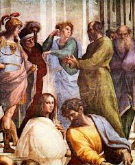 Sócrates dialogando con los sofistas