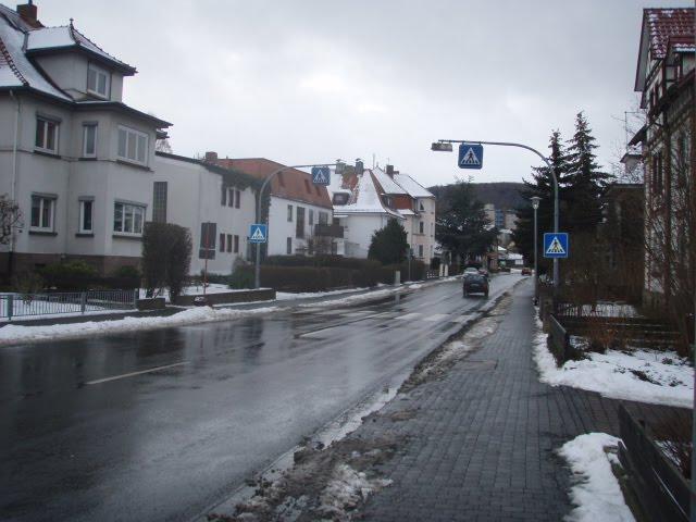 O inicio da NEVE na EUROPA no ano passado, Andanças da Neca pela Alemanha em 2009