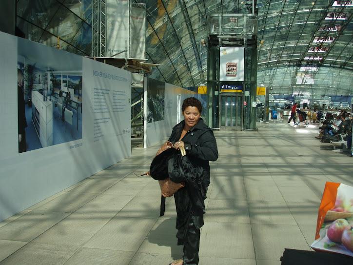 Neca Machado, na EUROPA em 2009, em busca de conhecimento em gestão de cidades.