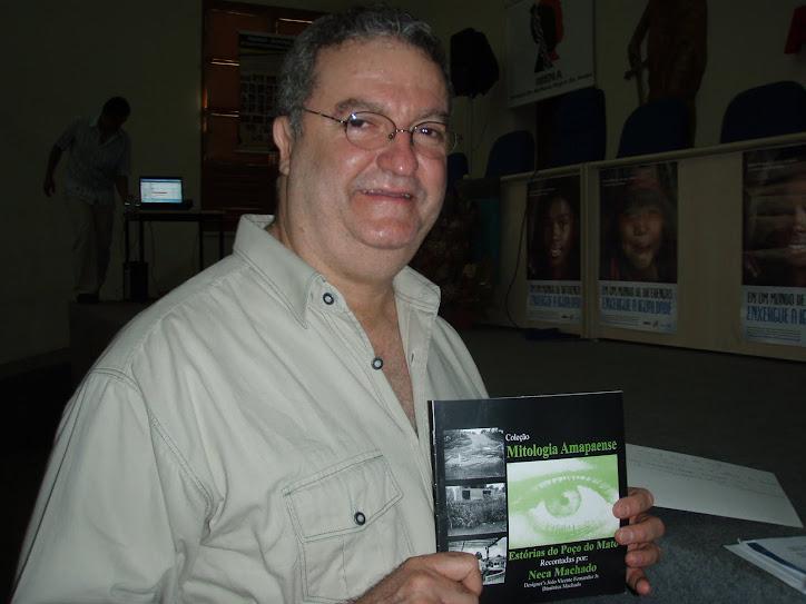 Representante do Unicef conhece a Obra que escrevemos sobre os MITOS DO AMAPÁ