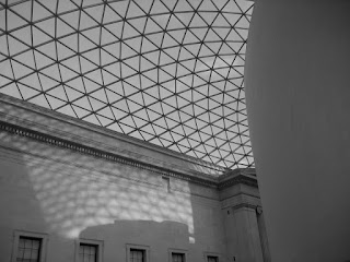 The British Museum Great Court Ceiling