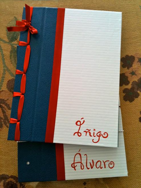 Libros de firmas para comuniones (o fiestas, o bodas...)