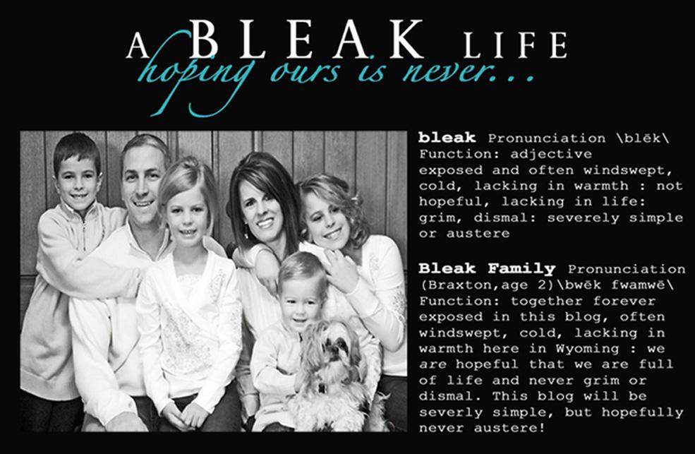 a BLEAK life