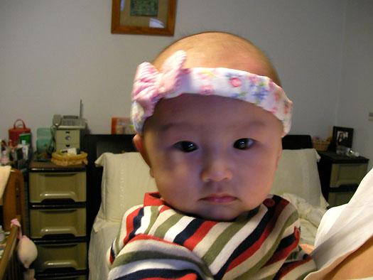 olivia @ 4 months