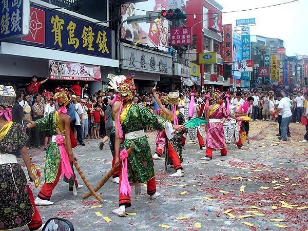 xinzhuang temple parade 2009