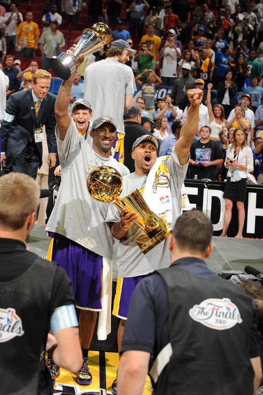2009 nba champs - los angeles lakers