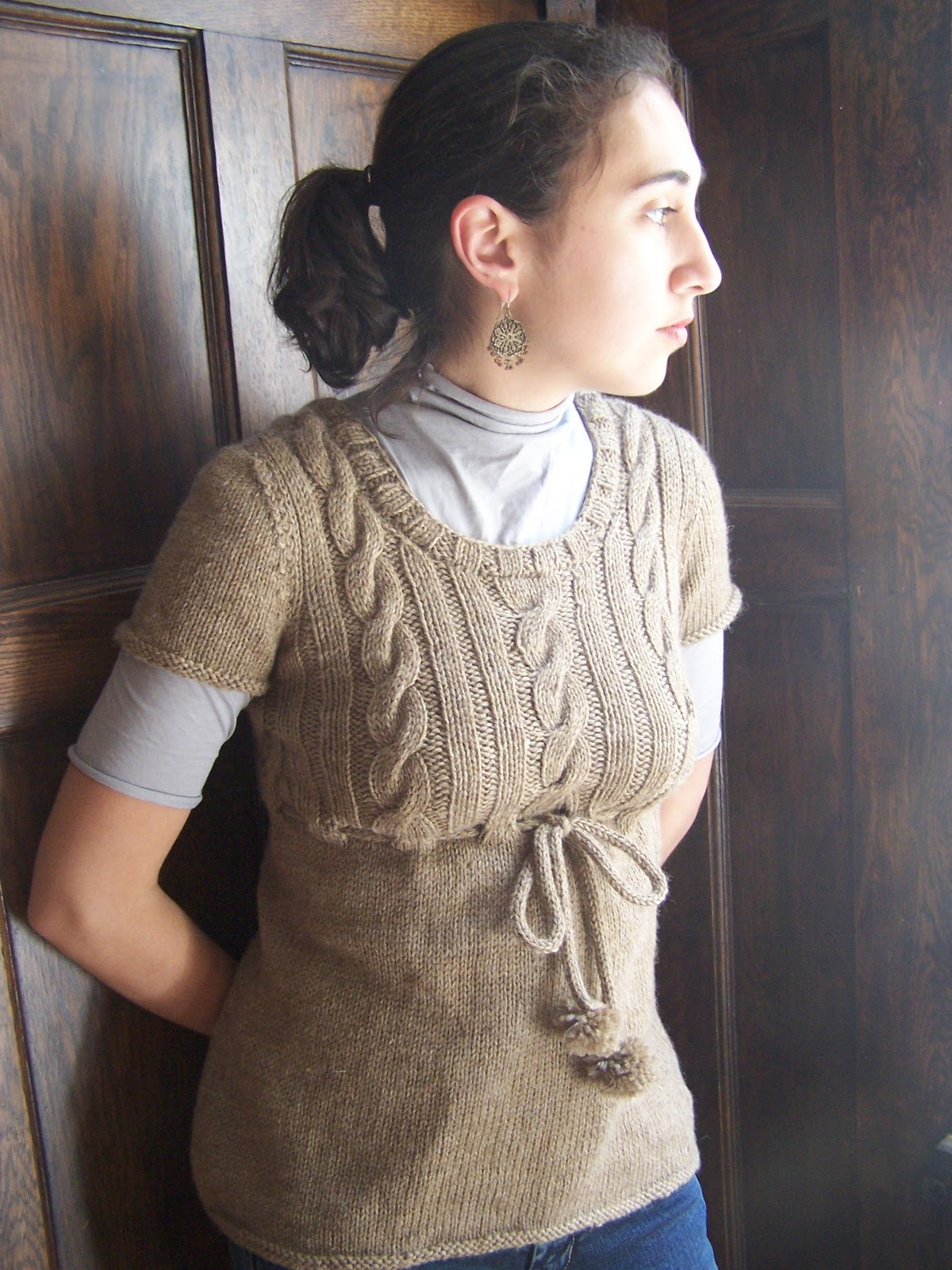 What To Knit When You\'re Expecting: Ohia Tunic