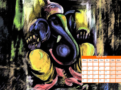 april 2010 calendar printable. Hindu Calendar April 2010