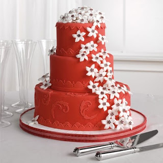 Red+Wedding+Cake+6