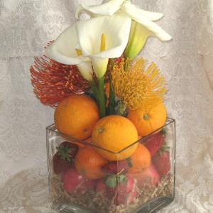 fruit centerpiece for weddings
