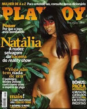 Playboy Ex bbb - Natália Nara